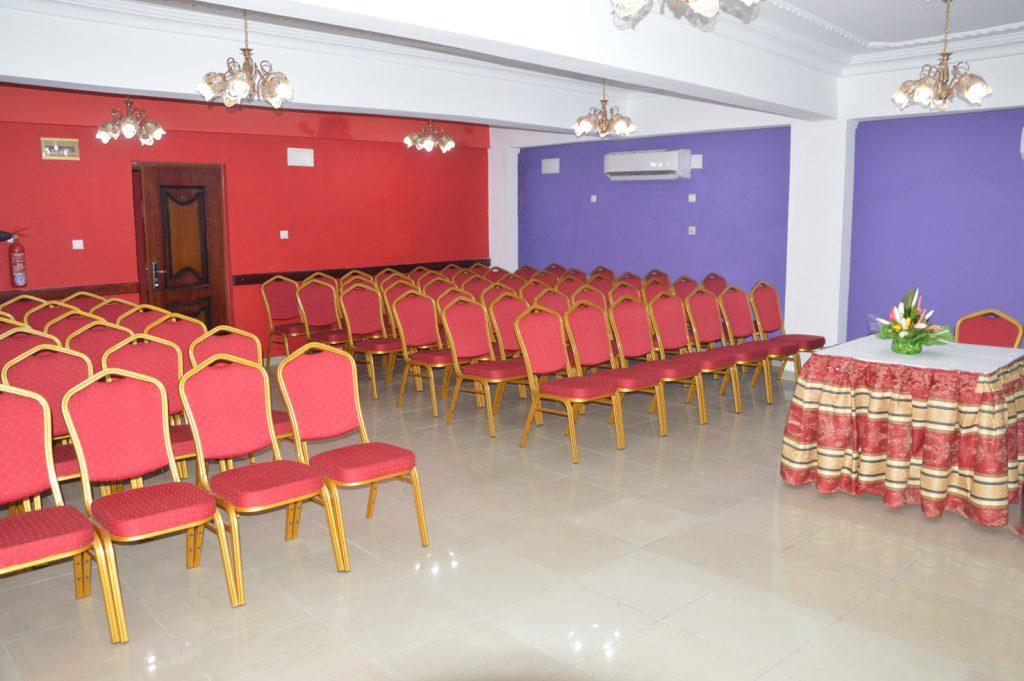 la salle de conference