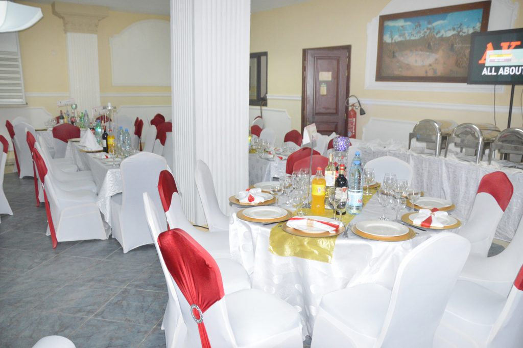la salle de banquet